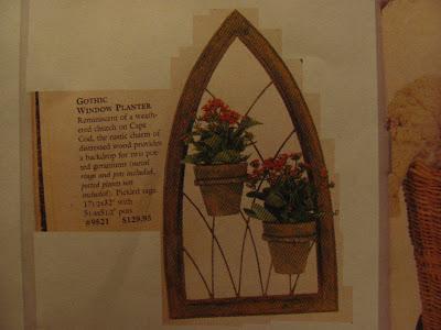Dollhouse Miniature Furniture - Tutorials   1 inch minis: Gothic Window Planter #dollhouseminiaturetutorials