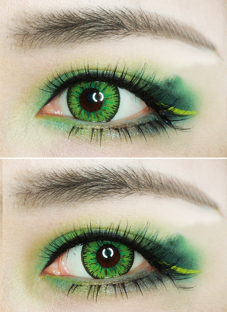 Sweety Candy Series Sweety Candy Green Lens Green Contacts Lenses Contact Lenses Colored Green Colored Contacts