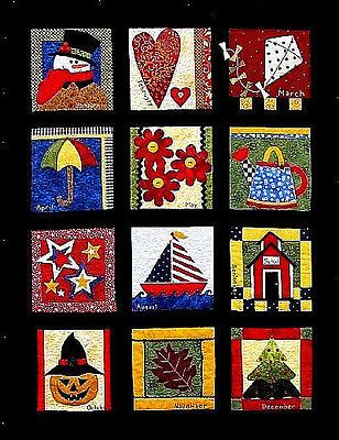 New Pattern Calendar Quilt Block Of The Month It 039 S A