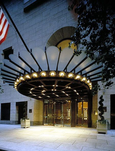 Four Seasons Hotel New York Entrance Design Entrance