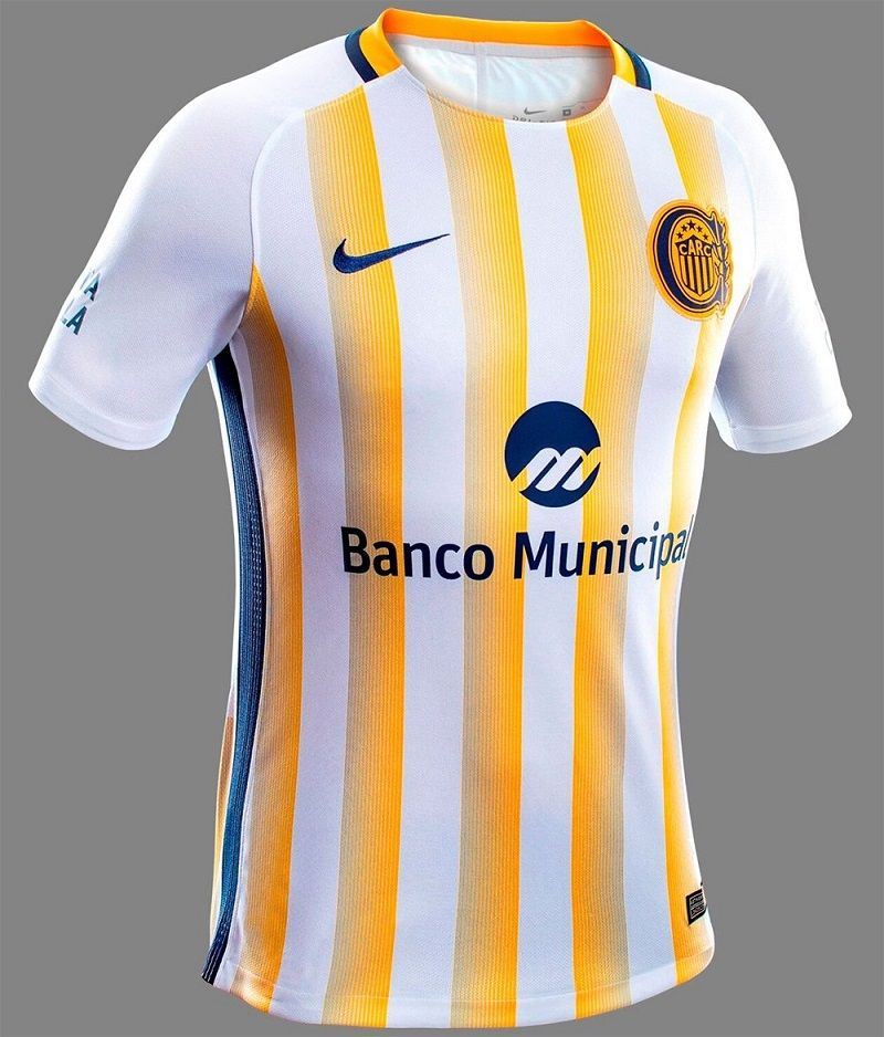Camisas do Rosario Central 2017 Nike  3b365011c8db9