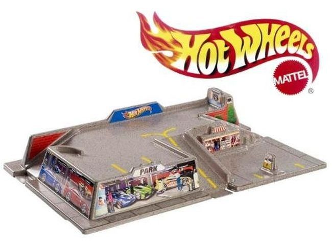 MATTEL BGH82 / BGH83 Hot Wheels playset area of supply