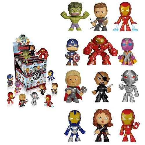 Avengers Mystery Mini Blind Box Vinyl Figure 1pc Mystery Minis Vinyl Figures Mini Figures