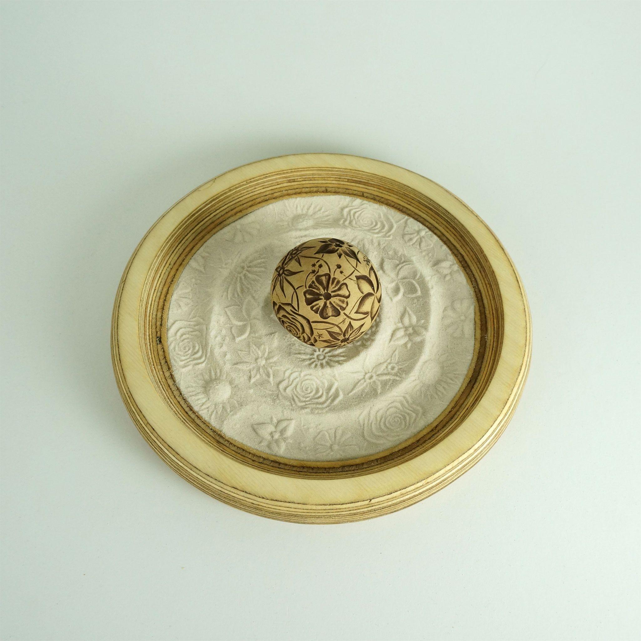 Mini Zen Garden 9 Quot Circular Sand Tray Package Large