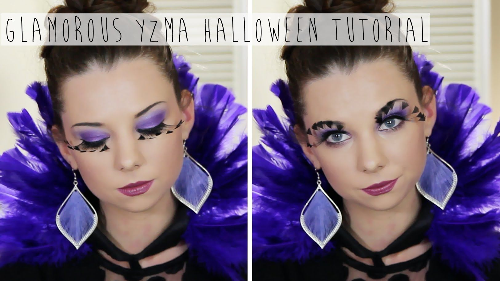 This Is A Glamorous Makeup And Hair Tutorial Of Yzma From The