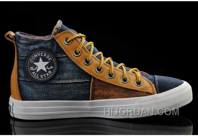 74c14a6deb98 Discover the CONVERSE Iron Man Design Style The Avengers Comics High Tops  Brown Yellow Stitching Canvas Sneakers Lastest group at Footlocker.