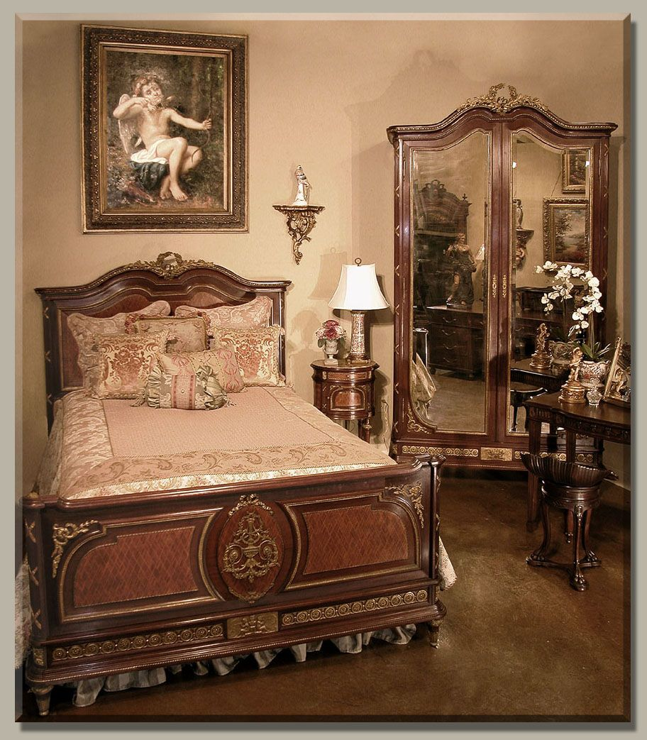 Know Your French Antique Furniture ~ Part 8  Classic bedroom