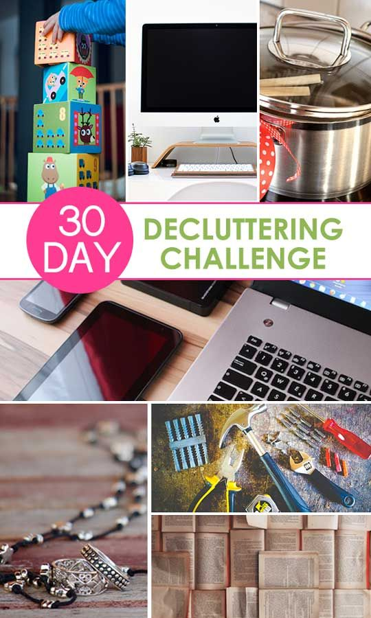 Got Too Much Clutter Our 30 Day Declutter Challenge Will Help You