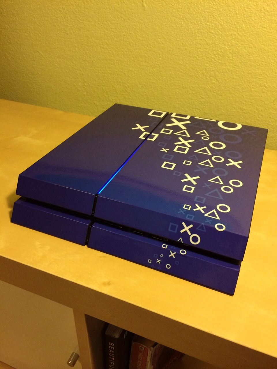 PS4 Skin via Reddit user HipHopAnonymous23 | PlayStation | Ps4 skins