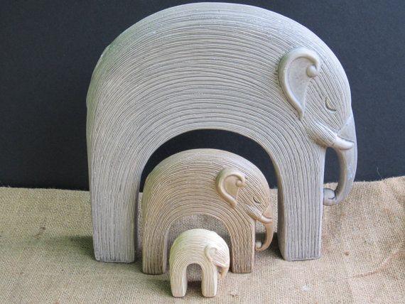 Nesting Elephants Home Decor Trio of Elephants by ... on elephant art, elephant furniture, elephant bathroom, cat design home, elephant logo design, elephant graphic design,