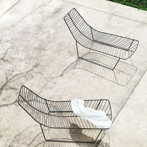 Leaf chaise lounge outdoor  West  Out Eastchaise