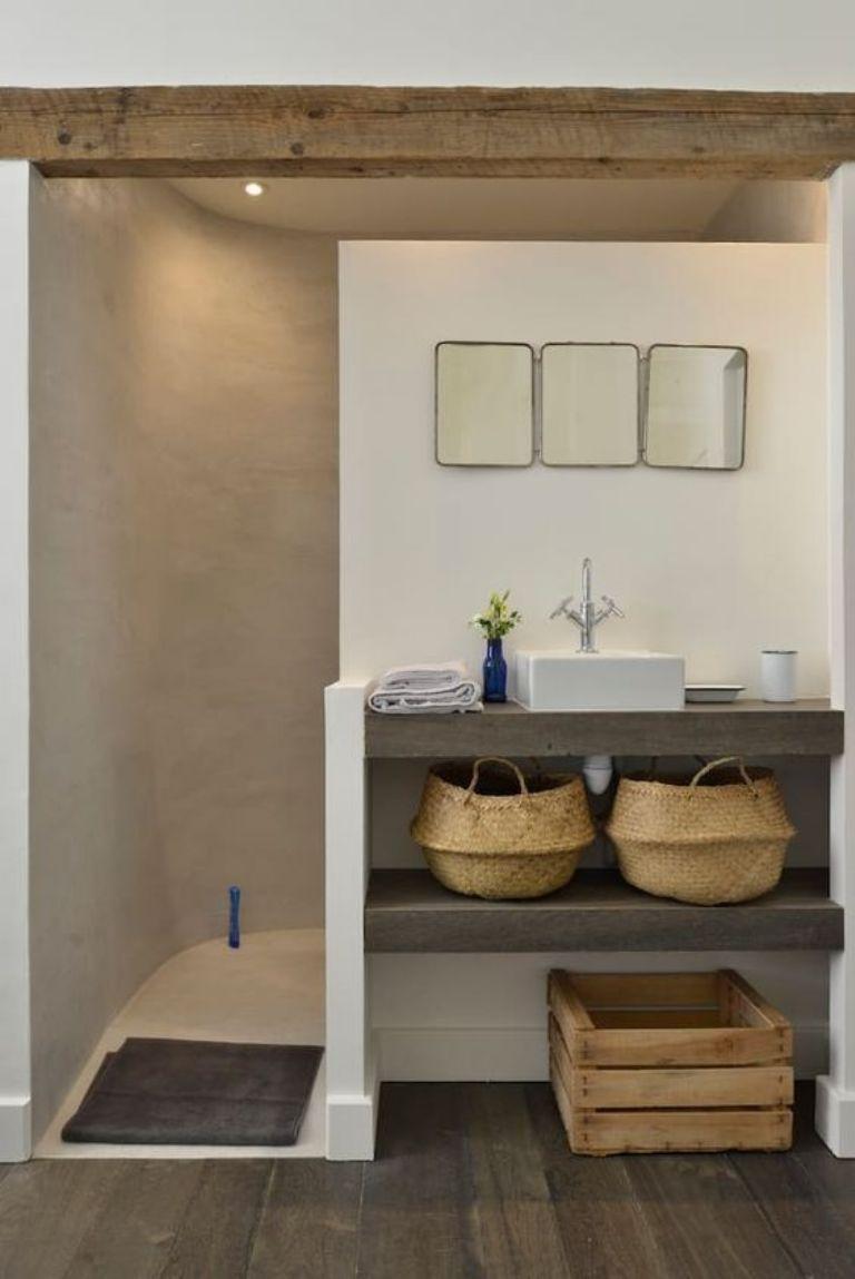 ¿Qué muebles deberías usar para un baño pequeño?