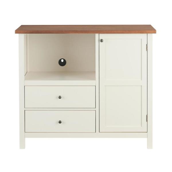 Stylewell Stylewell Elfenbein Holz Ubergangs Kuche Pantry Kuche 42 In W X 36 In H Sk Kitchen Storage Shelves Kitchen Cabinet Storage White Office Furniture