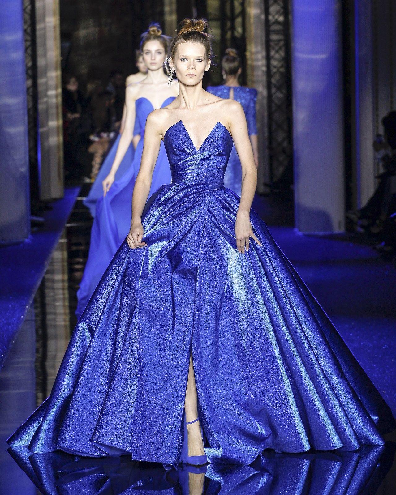 zuhair murad | couture spring \'17 | moda | Pinterest | Vestiditos ...