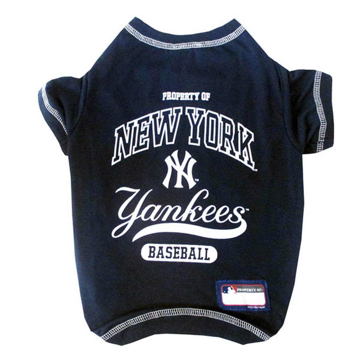 3820af1f19f New York Yankees Dog T-Shirt - Navy Blue