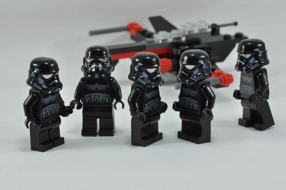 starwars lego shadow trooper afigures Google Search   Lego