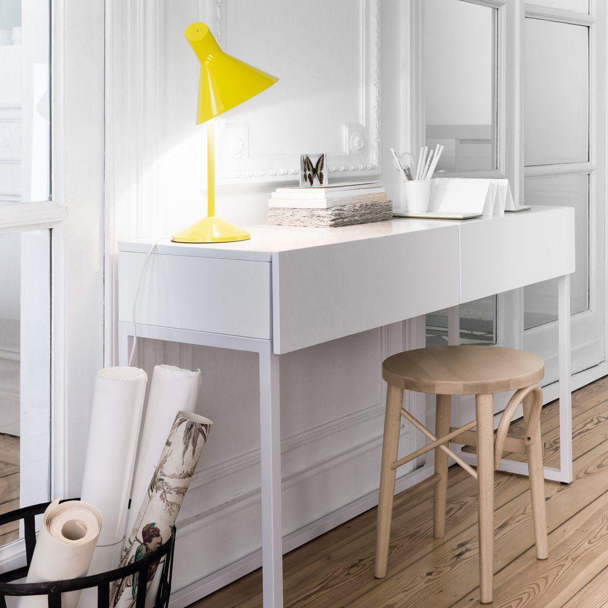 console bureau 2 tailles newark la redoute interieurs la redoute bureau home pinterest. Black Bedroom Furniture Sets. Home Design Ideas