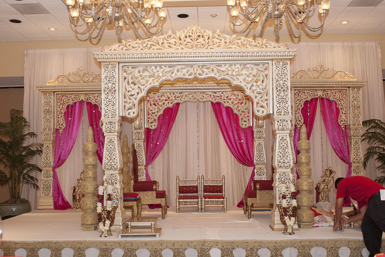 Wedding mandap timandminal indian wedding decor mandap designs stage decorations junglespirit Image collections