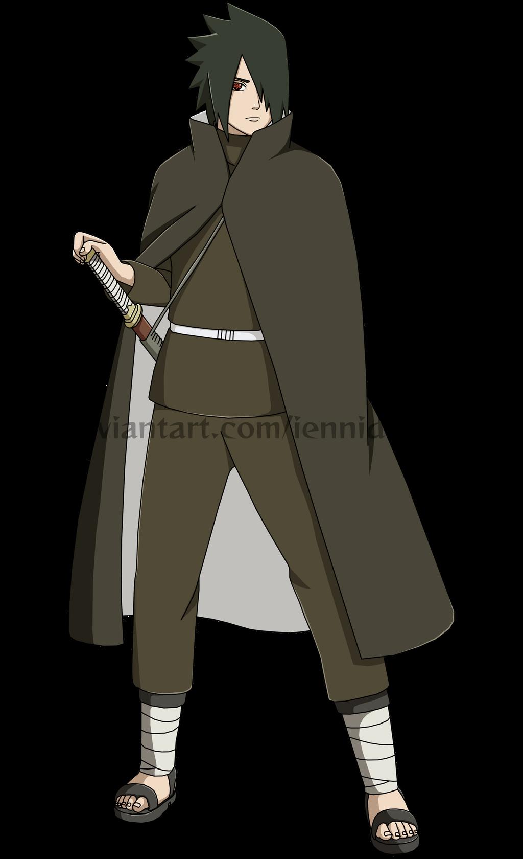 Naruto ShippudenSasuke Uchiha (Shinden) by iEnniDESIGN on