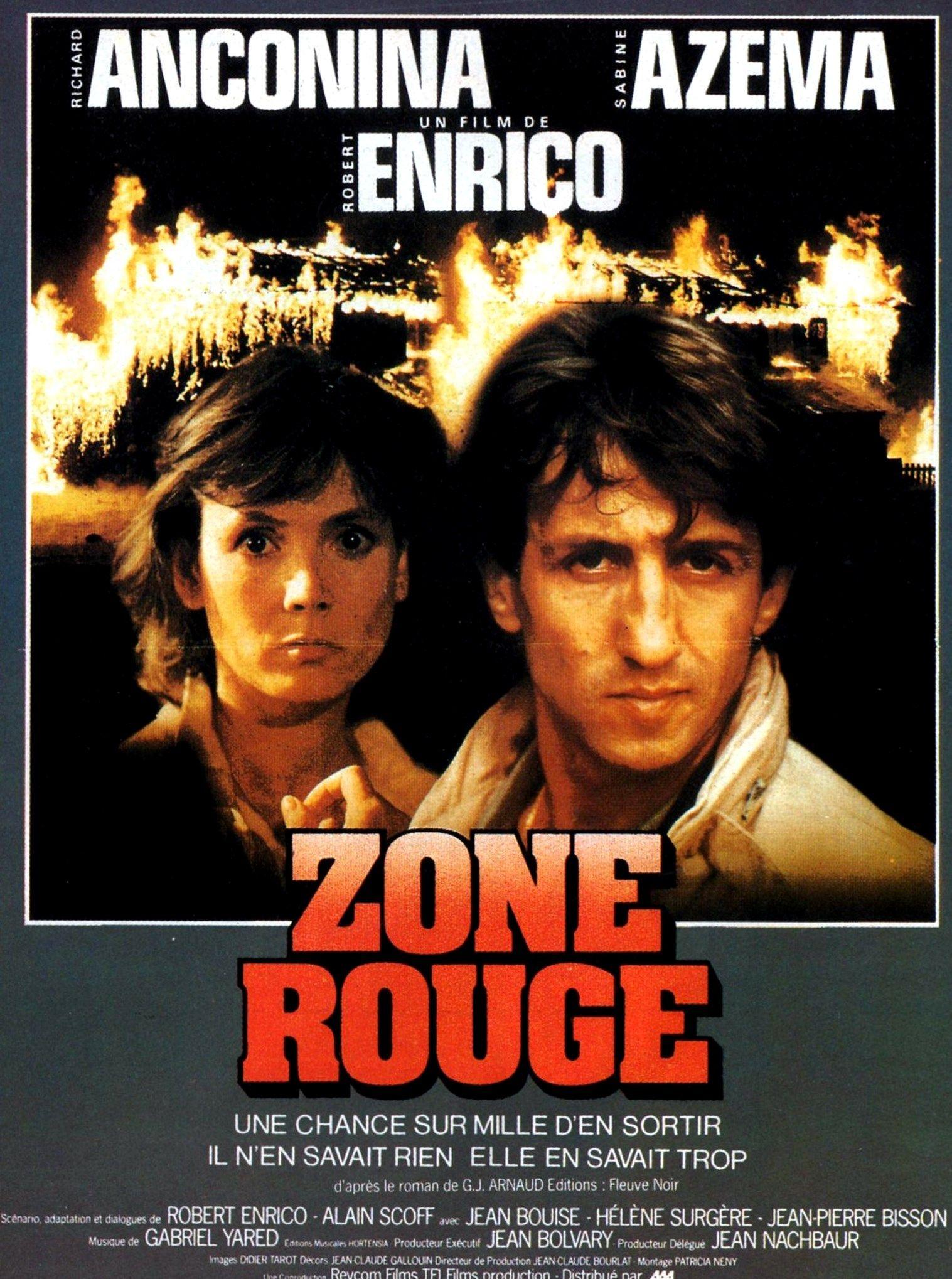 Le Rouge Et Le Noir Film Streaming : rouge, streaming, Rouge, Robert, Enrico, Sabine, Azema, Richard, Anconina, Артист