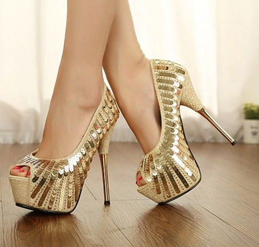 Elegant High Heels $15.93 | Female Shoes | Pinterest | Peeps ...