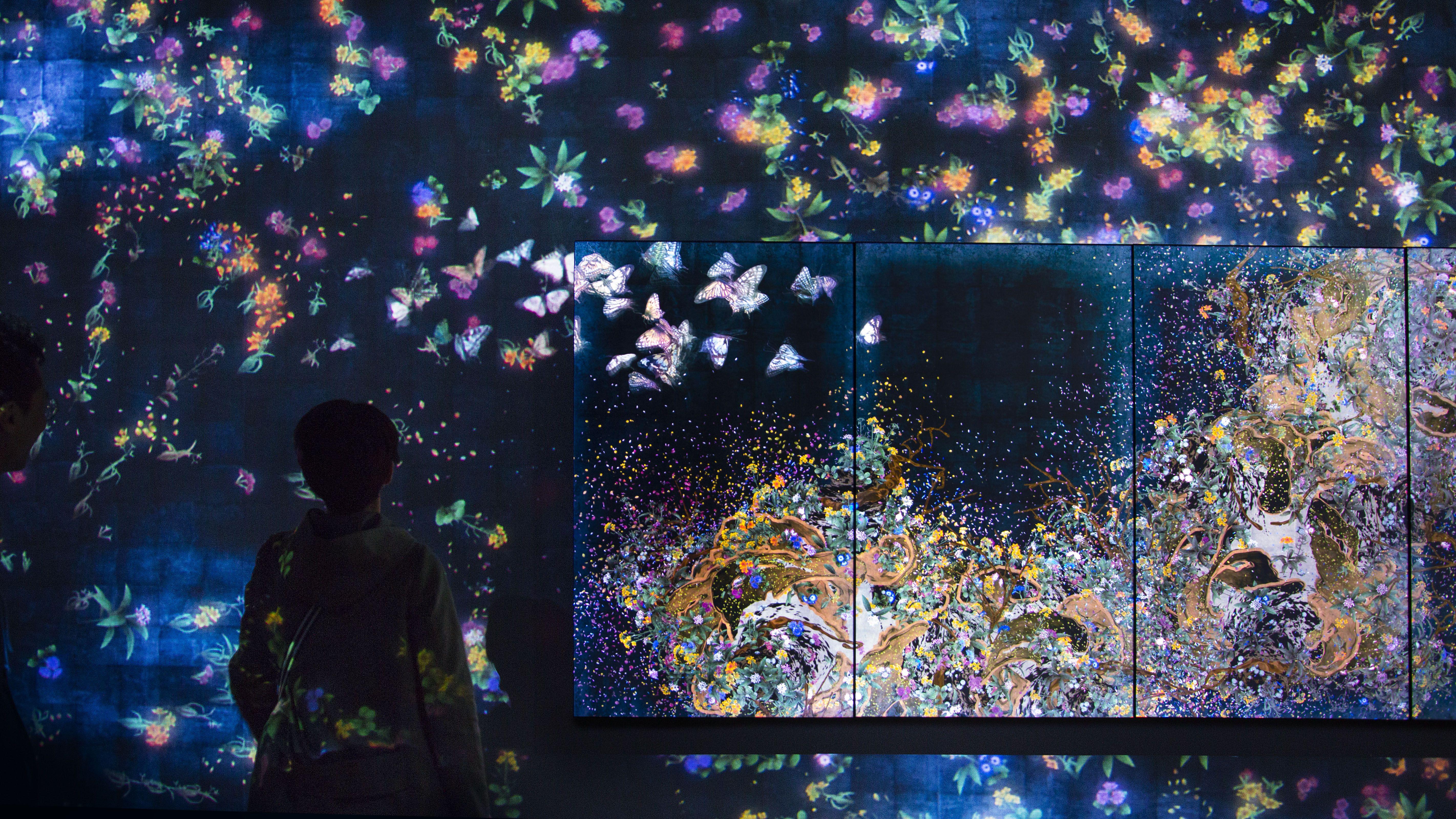 teamLab Brings 20,000 Square Feet of Digital Art to