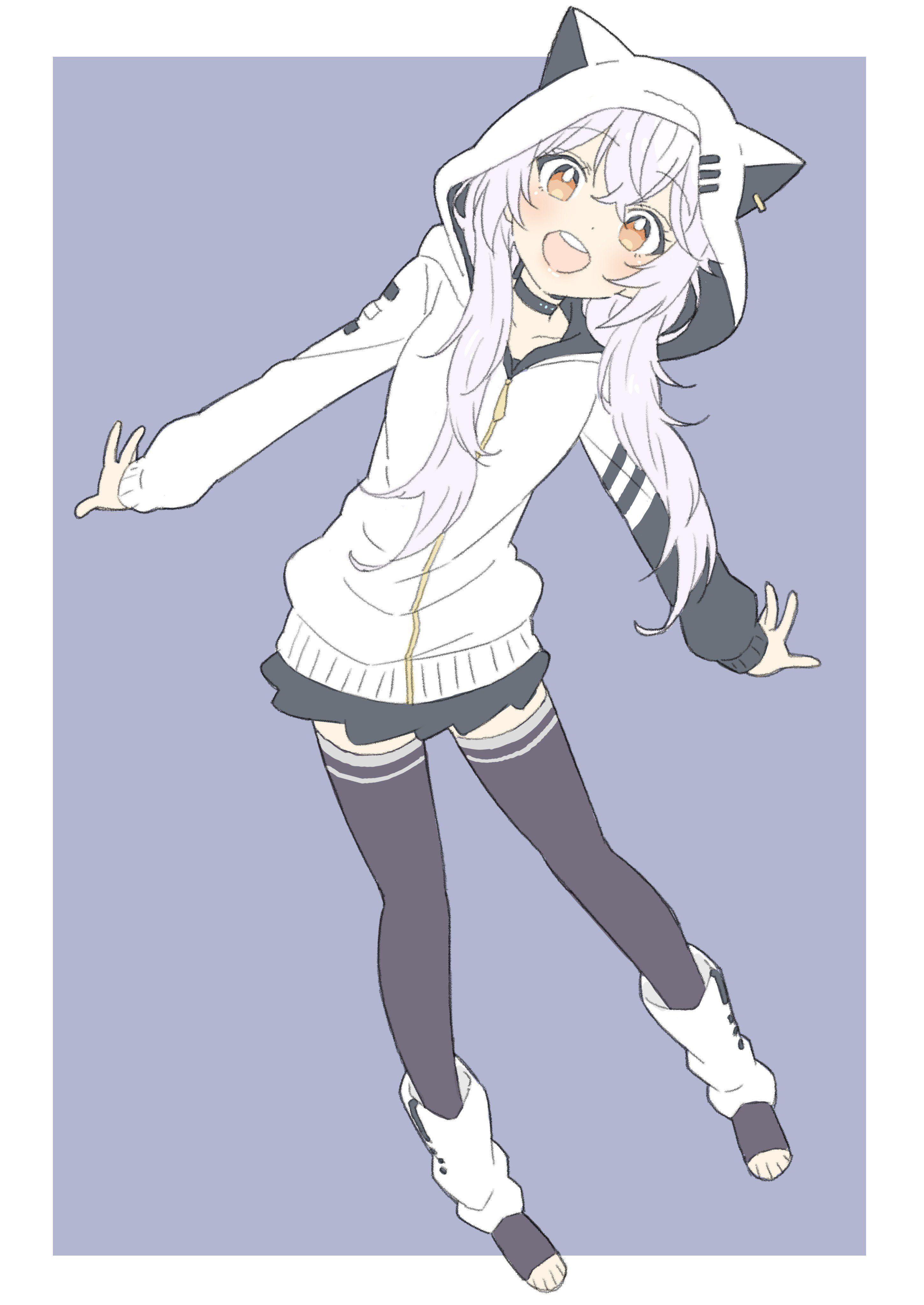 30++ Anime girl hoodie cute ideas in 2021