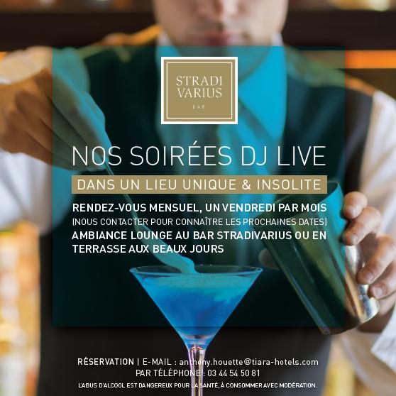 CHATEAU HOTEL MONT ROYAL DJ - Nights Live at the Stradivarius Restaurant & Bar... Contact us for the next dates ! Contactez-nous pour connaître les prochaines dates...