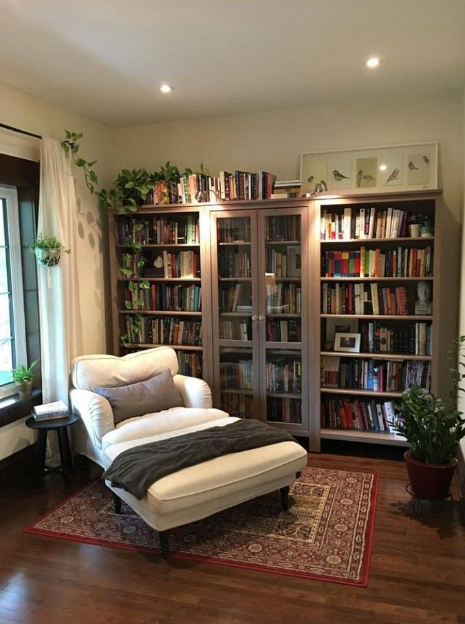 Cozy Reading Room Design Ideas: 80+ Best Cozy Reading Room Library Book Shelves