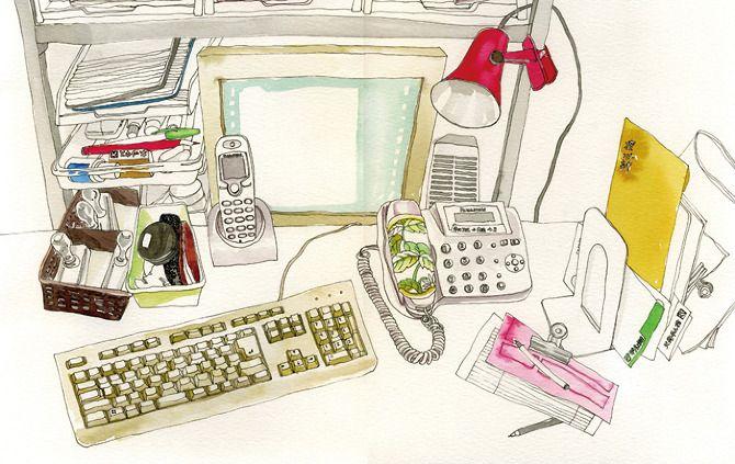 desks - Juriko Kosaka