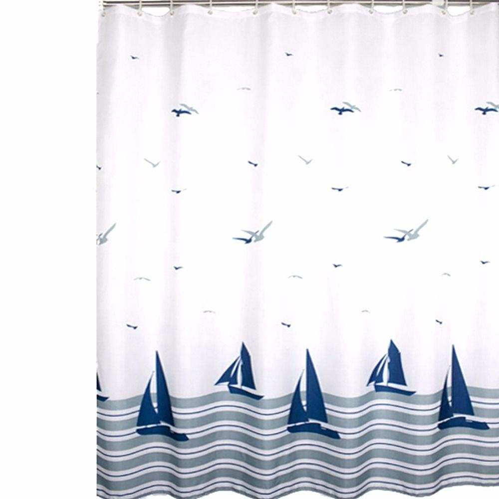 New shower curtain mouldproof waterproof bath curtain for bathroom
