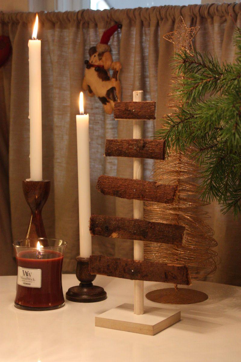 DIY Rustic Wood Christmas Tree
