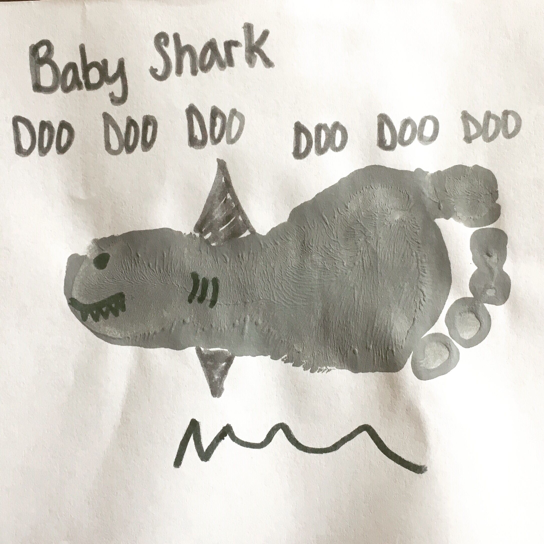 Everyone Can Hear This Awesome Footprint Shark Craft Right Now My