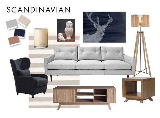 Scandinavian Mood Board Nestdesigns Edecorating Emma