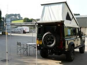 Re: Add-on sleeping compartment for Defender CSW 110