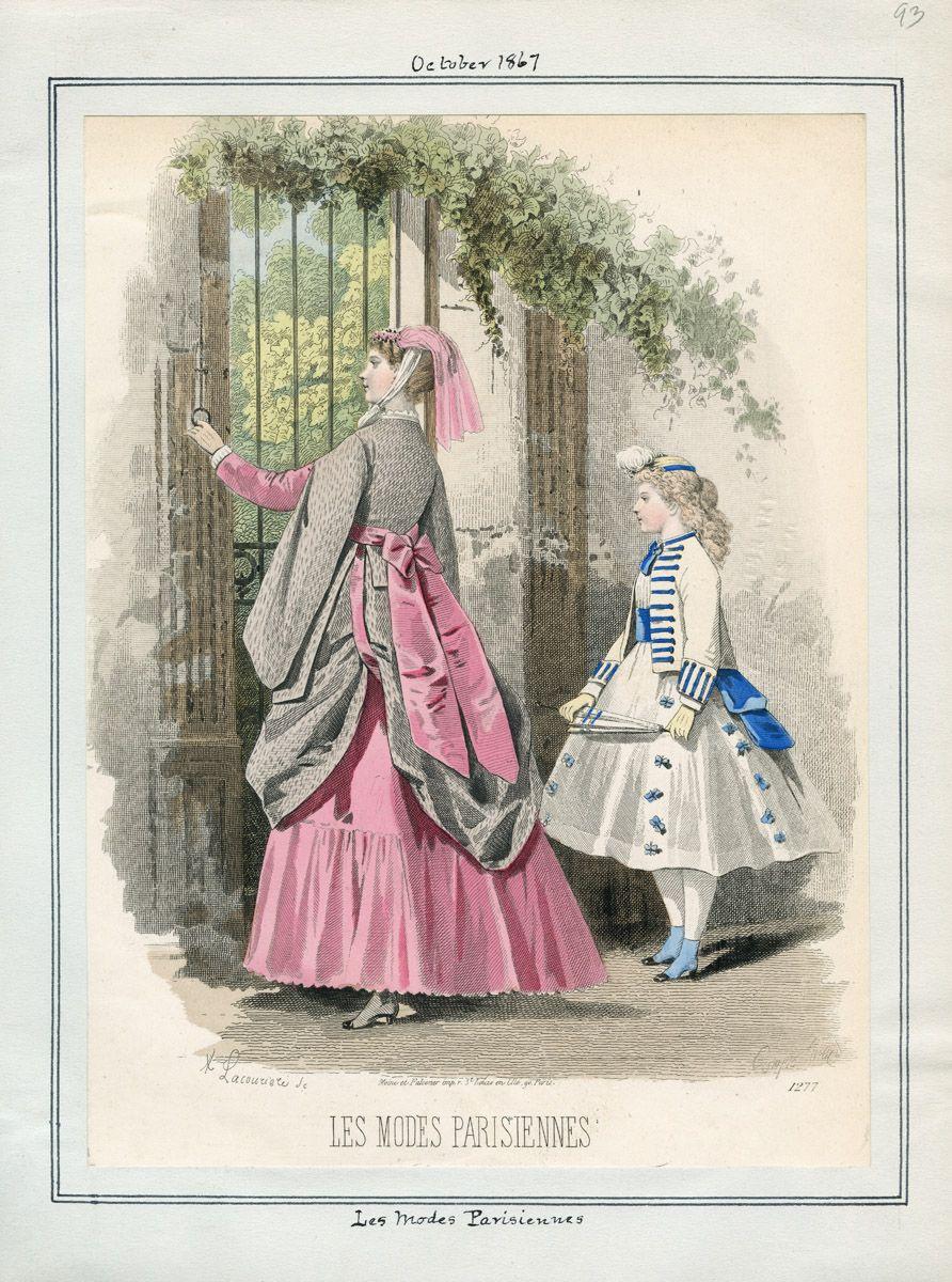 Les Modes Parisiennes October 1867 LAPL