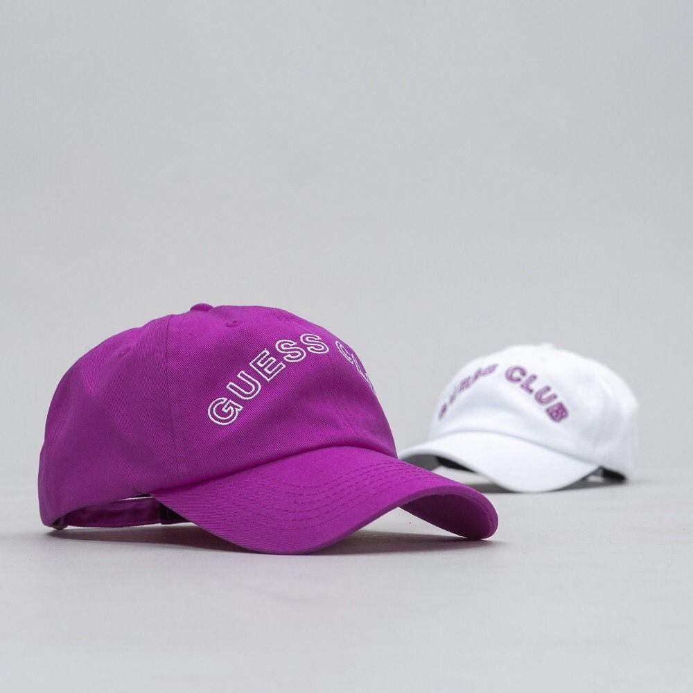 327b3f0cc22fd Guess x ASAP Rocky SS17 CLUB Hat Pack ROCKY PURPLE   WHITE Cap W Receipt  A ap  GUESS  BaseballCap
