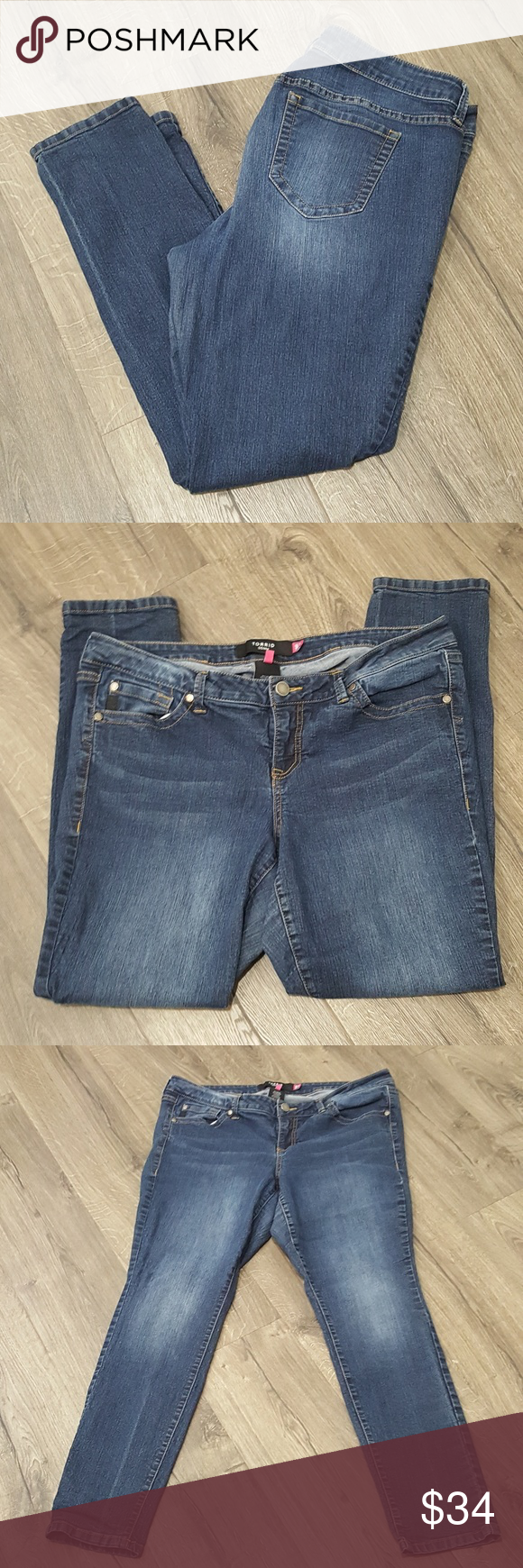 TORRID Jeans • Size 18 R TORRID Jeans Size 18 R Approx