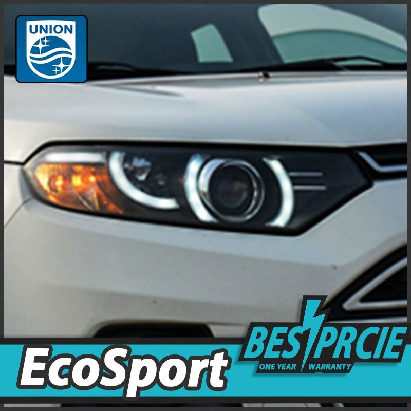 Union Car Styling For Ecosport Headlights New Evoque Desgin Led