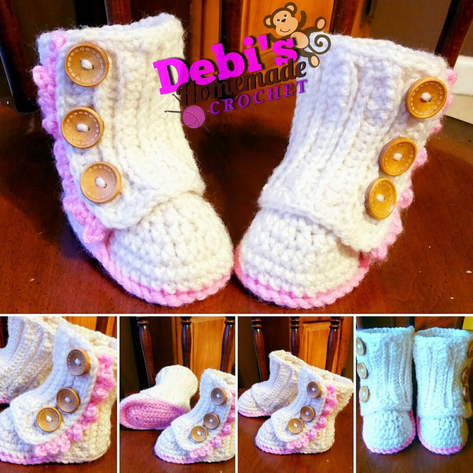Baby Wrap Boots Made To Order Crochet Baby Gifts Pinterest