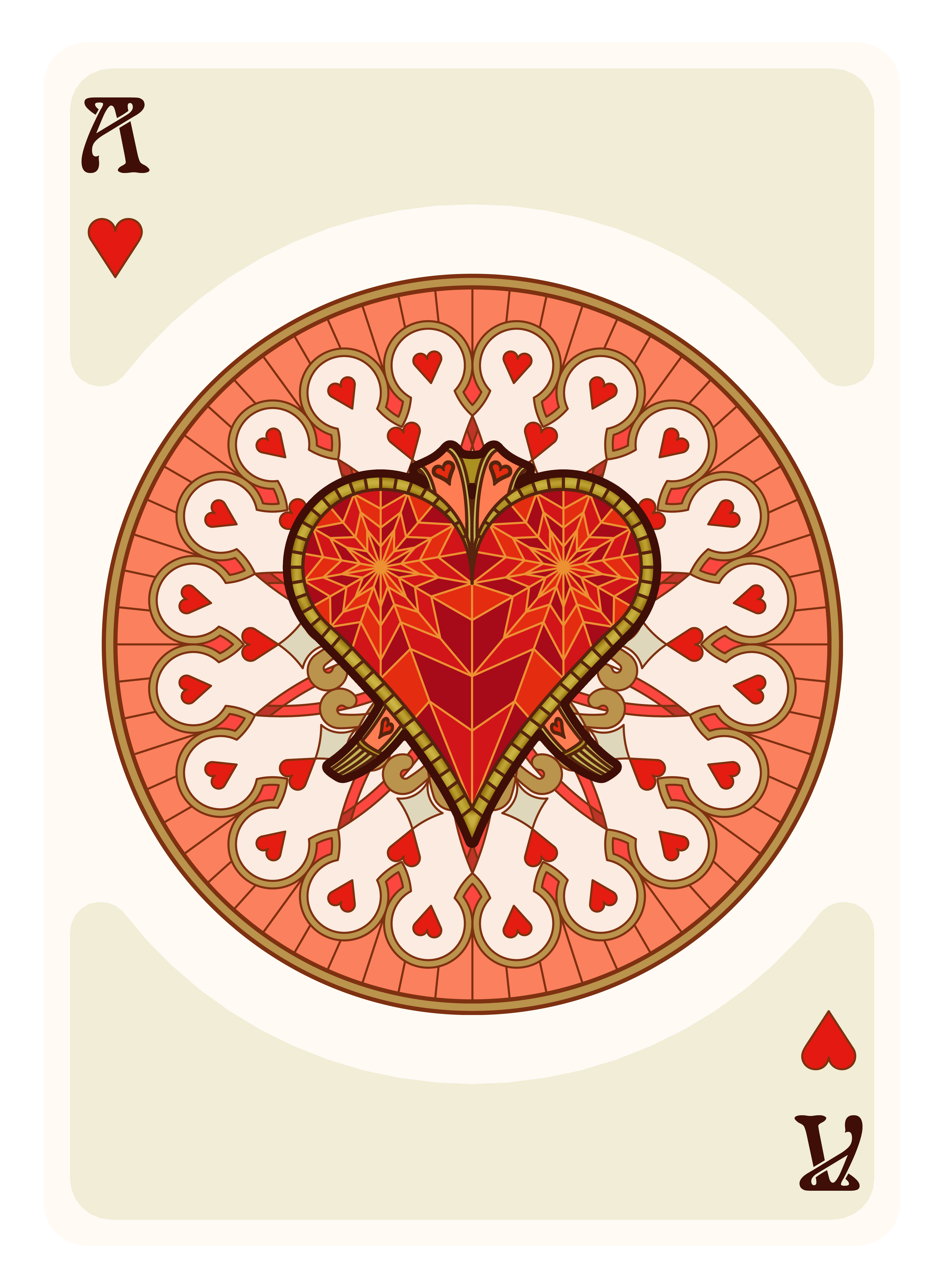 Nouveau Playing Cards UC2016 Deck Playing cards art