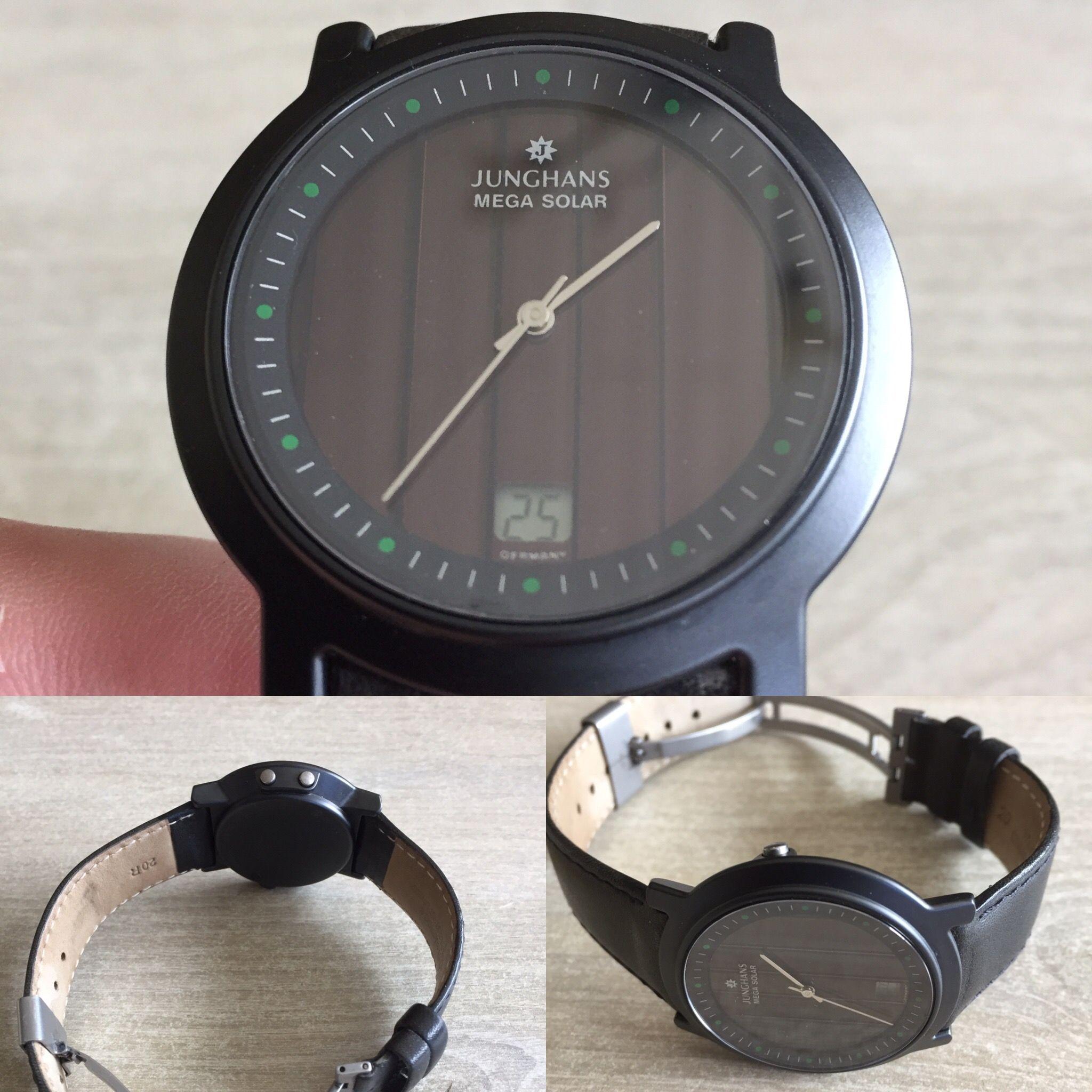 Junghans Mega Solar Ceramic Black Watch Junghans Watch Solar Watch Junghans