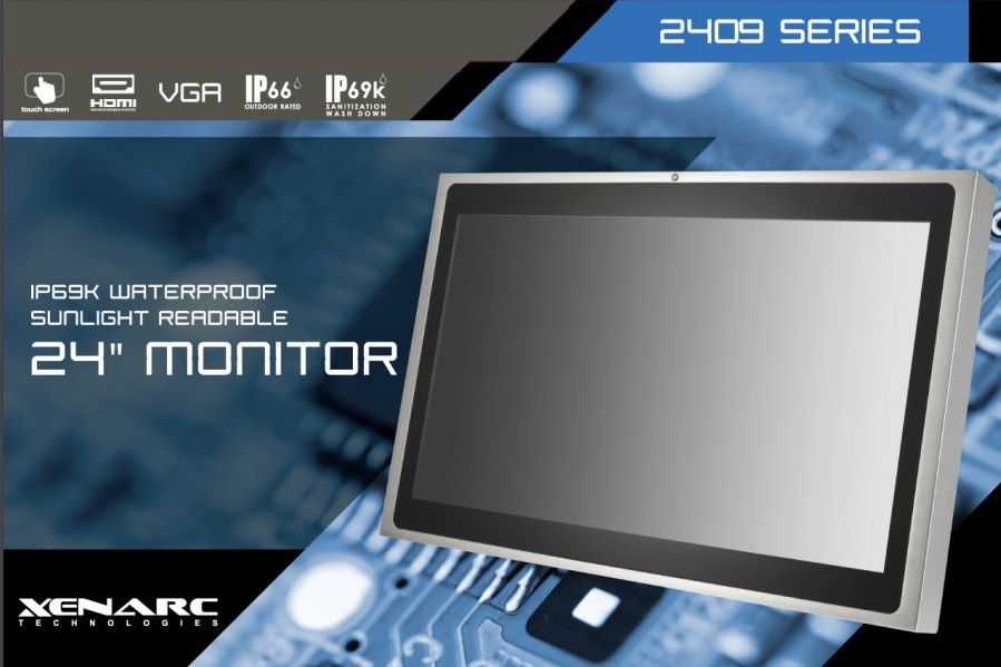Explore The Many Benefits Of An Ip69k Rated Stainless Steel Enclosed 24 Lcd Monitor Ca