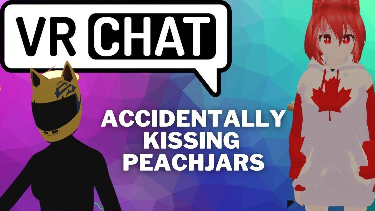 Kissing Peachjars In Vr Vrchat Memes Memes Kiss Movie Posters