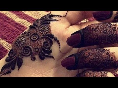 Beautiful and heavy henna design for backside