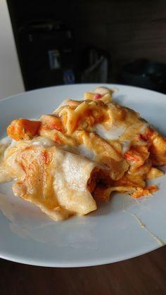 Kürbis-Lasagne mit Tomaten #herbstgerichte