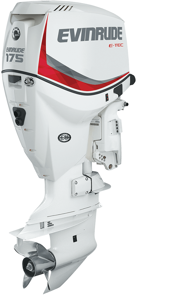 Evinrude Motores V6 de 175 HP | Моторные лодки | Outboard