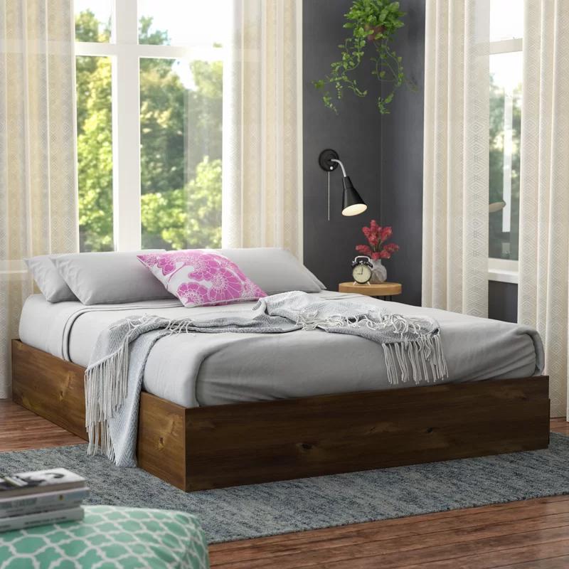 Best Ralston Storage Bed In 2020 Contemporary Platform Bed 640 x 480