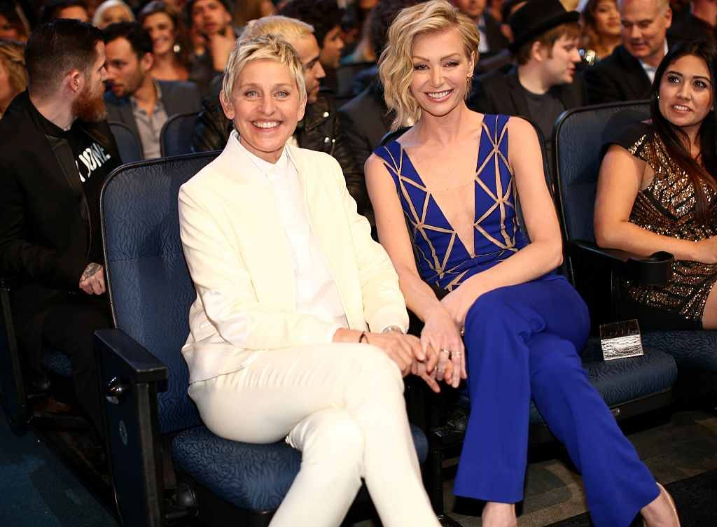 Portia de Rossi plans to divorce the very controlling Ellen DeGeneres #ControllingWife, #Divorce, #EllenDegeneres, #Portia, #Rumors