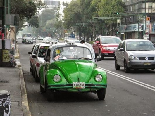 Taxi VW Beetle, Mexico